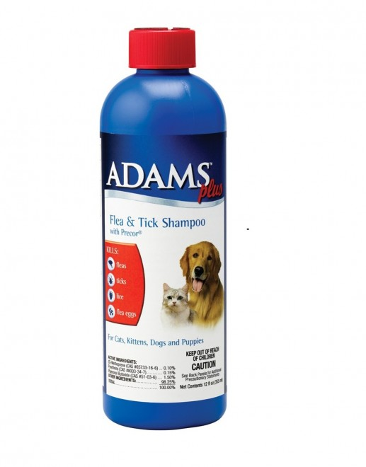 Adams Flea & Tick Cleansing Shampoo for Dogs & Cats