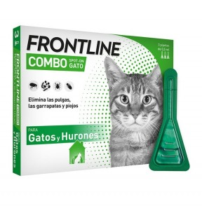 Frontline Combo For Cats (3 Pipetas inside )