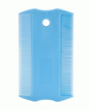 U-Groom Plastic Two-sided Flea Comb