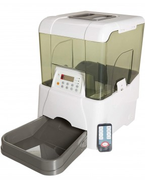 Smart Automatic Pet Feeder With Remote Controlled