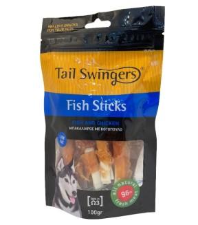 Pet Interest Tail Swingers Fish Sticks - Fish And Chicken