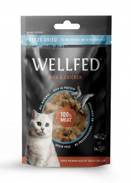 Pet Interest Wellfed Freeze Dried Fish & Chicken