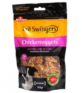 Pet Interest Tail Swingers Chickenuggets - Chicken And Sesame