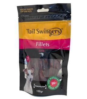 Pet Interest Tail Swingers Fillets - Soft Duck Slices