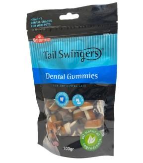 Pet Interest Tail Swingers Dental Gummies - Beef Flavor