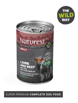 Pet Interest Naturest Lamb and Beef with Rice (6 Cans)