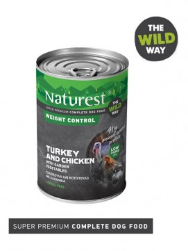 Pet Interest Naturest Weight Control Formula with Turkey and Chicken (6 Cans)