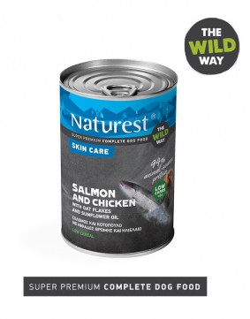 Pet Interest Naturest Skin Care Formula with Salmon and Chicken (6 Cans)