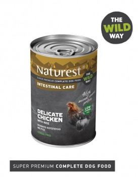 Pet Interest Naturest Intestinal Care Formula with Delicate Chicken and Rice (6 Cans)