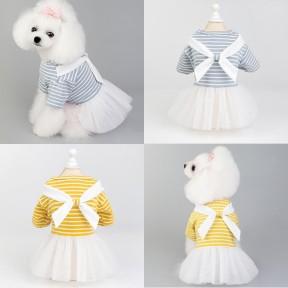 Pets. Love. Earth Princess Bowknot Plaid Dress