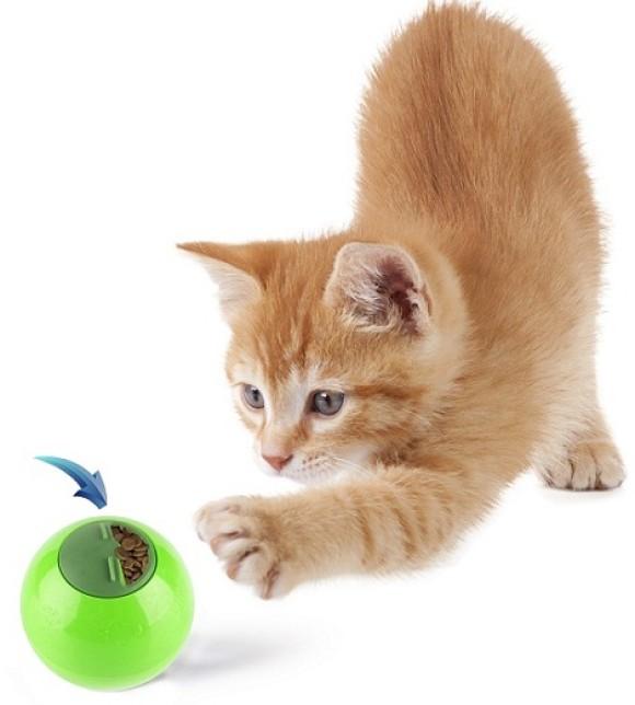 Pets.Love.Earth Interactive Pet Toy &Treat Dispenser