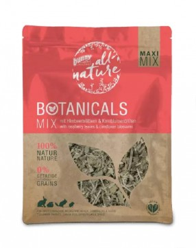 Bunny Botanicals Maxi Mix With Raspberry Leaves & Cornflower Blossoms
