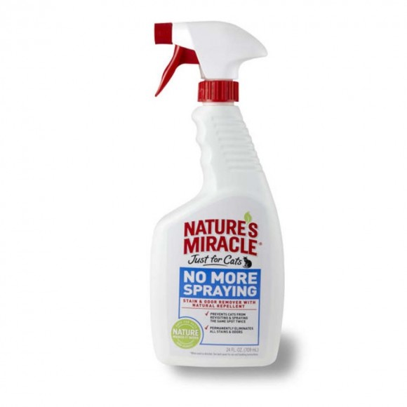 Natures Miracle Just For Cats No More Spraying Stain & Odor Remover Spray