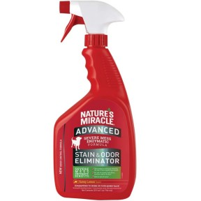 Nature's Miracle Advanced Stain & Odor Remover Sunny Lemon Scent For Dogs