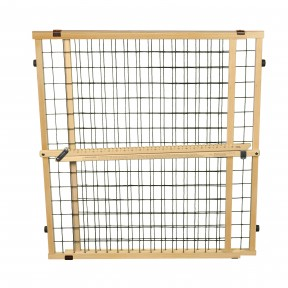 North States Extra-Wide Wire Mesh Petgate ( 29.5″ – 50″ wide ×  32″ )