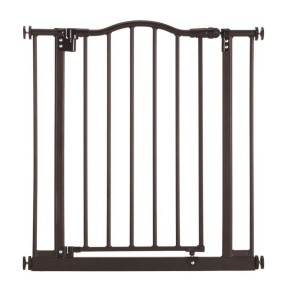 North States Windsor Arch Petgate  - Bronze ( 28.25″ – 38.25″ Wide × 28.5″ Height )