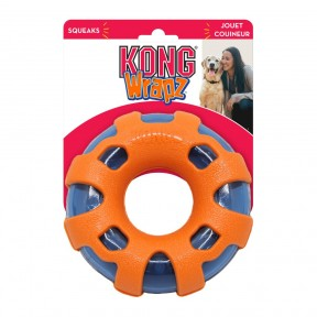 KONG Wrapz Ring Dog Toy