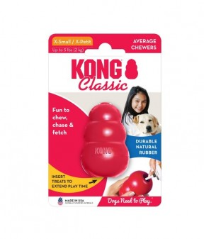 Kong Classic Red Chew Toy