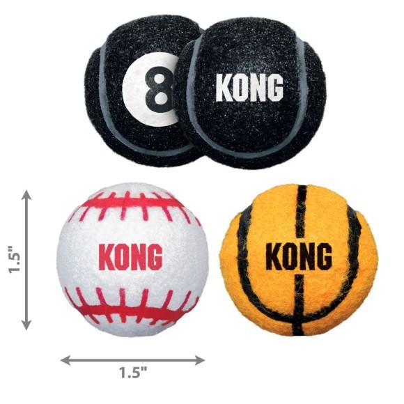 KONG Sport Balls Dog Toy Assorted