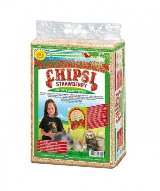 Chipsi Straberry Pet Bedding 3.2kg