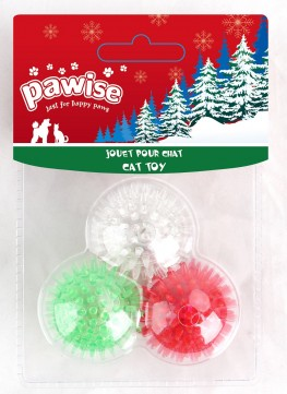 Pawise Christmas Flash Ball
