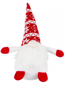 Pawise White Red Gnome