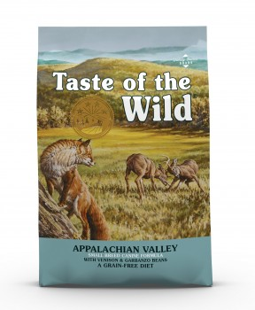 Taste of the Wild Appalachian Valley Canine Recipe with Venison & Garbanzo Bean Dry Dog Food