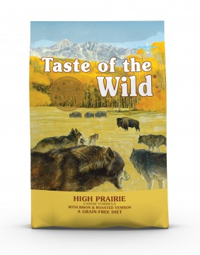 Taste of the Wild High Prairie Canine Recipe with Roasted Bison & Roasted Venison Dry Dog Food