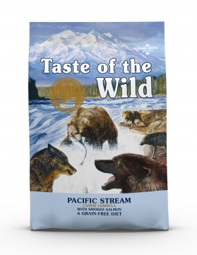 Taste of the Wild Pacific Stream Canine Recipe with Smoked Salmon Dry Dog Food