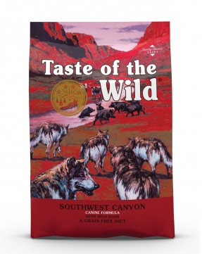 Taste of the Wild  Southwest Canyon Canine Recipe with Wild Boar Dry Dog Food