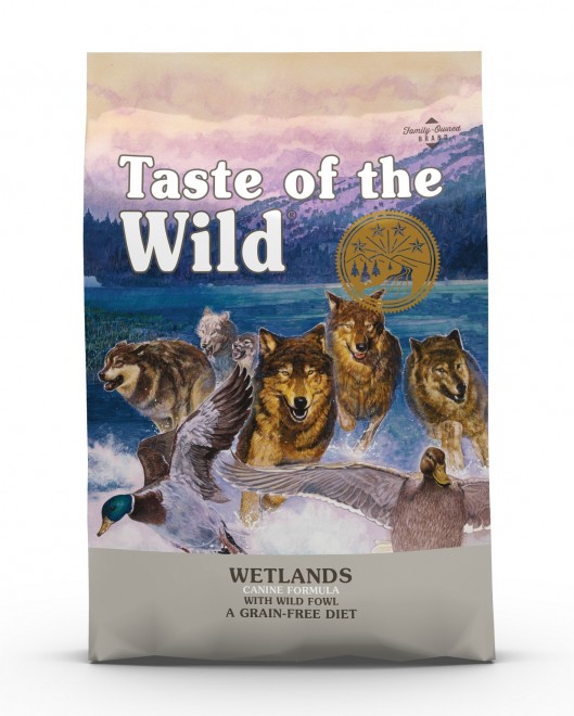 Taste of the Wild Wetlands Canine Recipe with Roasted Fowl Dry Dog Food