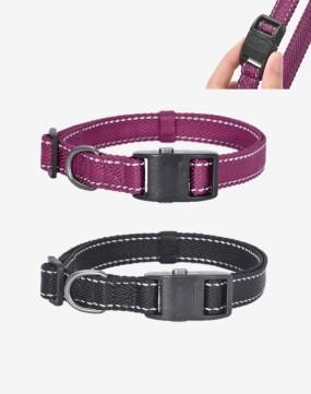Dogness Herringbone Webbing Collar