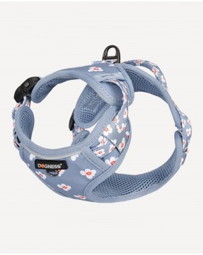 Dogness Floral Printed Harness