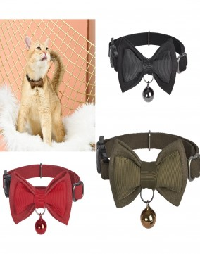 Dogness Genuine Leather Cat Collar Series (2 pcs in pack)