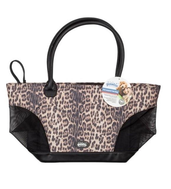 Pawise Pet Tote Bag leopard Print