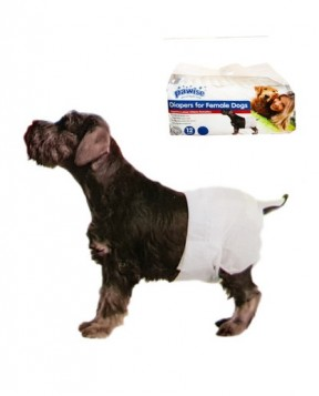 Pawise Disposable Diapers For Female Dogs