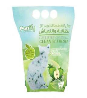 Purrify Cat Litter Crystals Clean