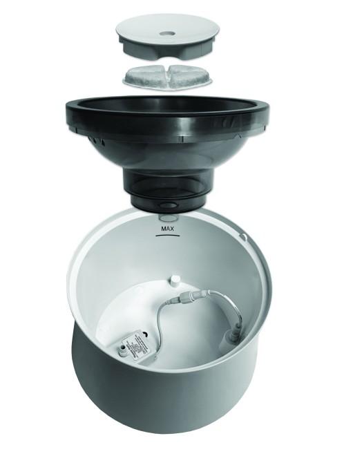 Pioneer Pet Vortex Drinking Fountain with USB