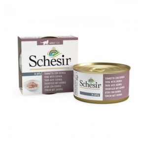 Schesir Canned Cat food Tuna with Quinoa (14 Cans)