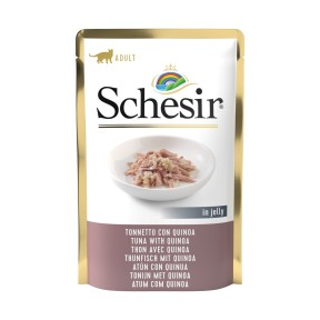 Schesir Tuna With Quinoa Pouch for Cat (20 Pouches)