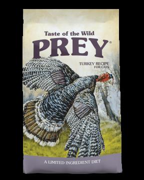 Taste Of The Wild Prey Turkey Limited Ingredient Recipe Dry Cats Food
