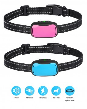 Tech Rechargeable No Bark Collar Pet DC681 for Dogs from 4Kg to 25 Kg