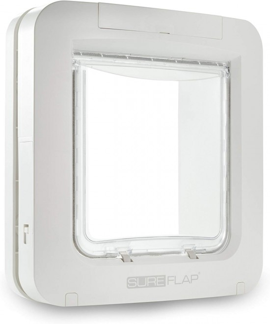 SureFlap Dual Scan 4-Way Flap with Microchip Identification & RFID Collar Tag